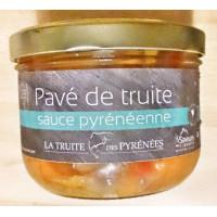 Pavé de truite à la sauce Pyrénéenne, 380 g