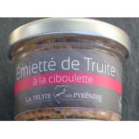 Emietté de truite ciboulette, 90 g