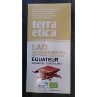 Chocolat au lait bio Equateur 53%