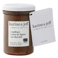 Confiture Extra de figues au chocolat Bio, 245g