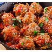 Boulettes de boeuf sauce paprika, 800g