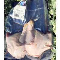 Cuisses de poulet , 2 pièces, entre 500 - 600 g