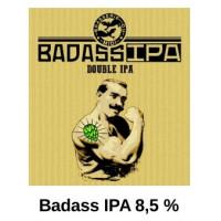 "Bière double IPA ""Badass"", 33 cl"