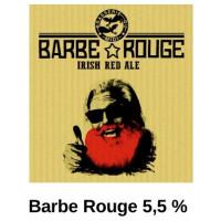"""Bière cuivrée """"Barbe Rouge"""", 33 cl"""