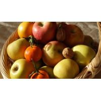 """Cadeau de Noël """"Plateau de fruits frais et secs"""""""