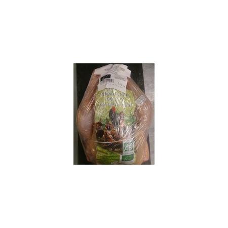 Poulet Bio fermier, entre 1,8 et 2,1 kg